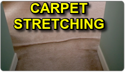 Carpet Stretching & Re-Stretching Services